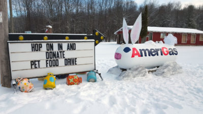AmeriGas Annual Pet Food Drive
