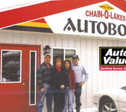 Chain O' Lakes Auto Body and Boyne Valley Motors