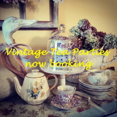 Vintage Afternoon Tea Parties at the Applesauce Inn B&B