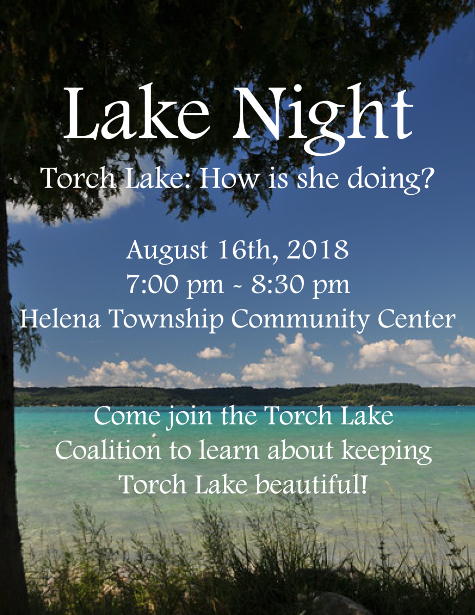 Lake Night with Torch Conservation Center