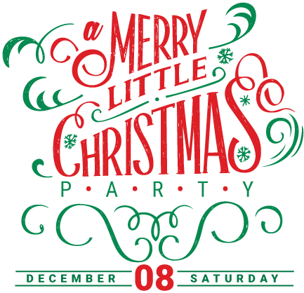 a merry little christmas party
