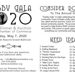 Consider Donating To The Annual Dinner