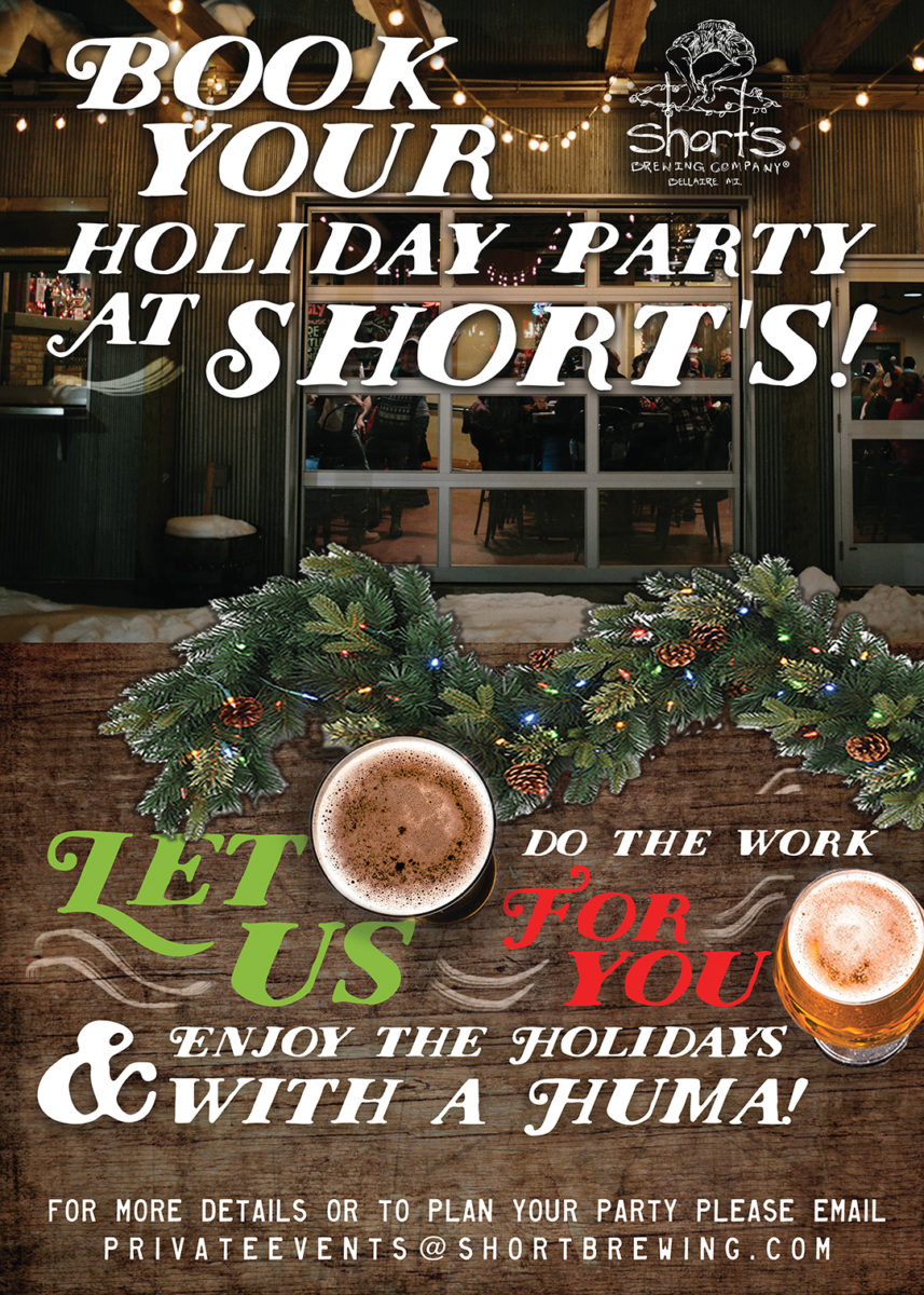 Book your holiday party at Short's!