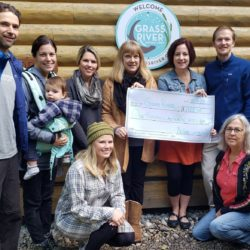 Bellaire Businesses Donate $1,223 to Grass River Natural Area