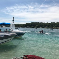 Boats on Torch lake