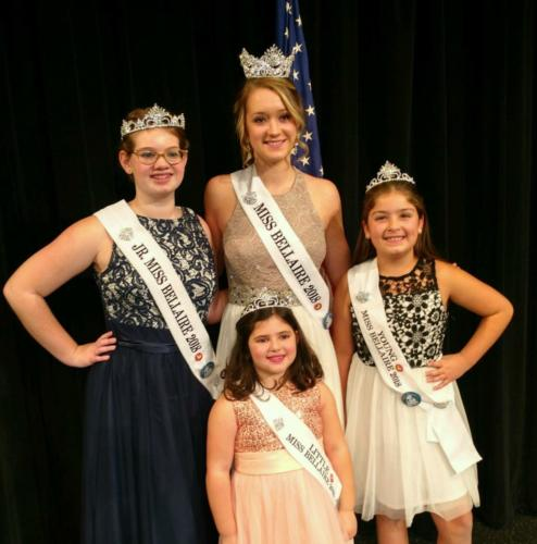 Miss Bellaire Court 2018