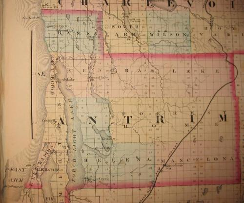 1873 Antrim map