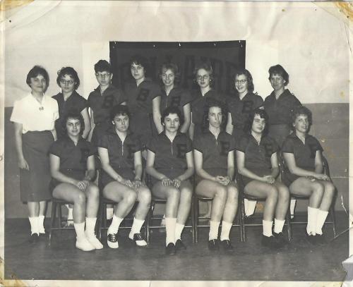 Girls baketball_1959